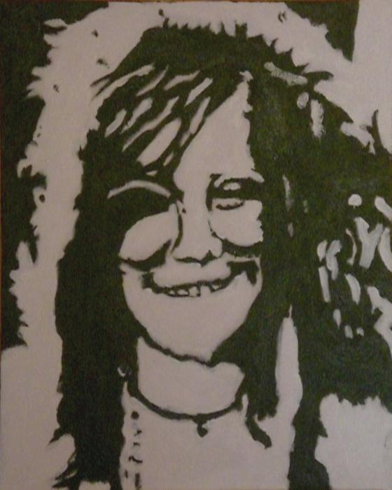 Janis Joplin by Celoush